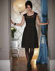 Bravissimo LACE PANEL DRESS by PEPPERBERRY in black RRP 65.00 (83)