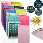 For NEW iPad Mini 3 Retina 2 1 JELLY TPU GEL Plain Rubber Snap-on Case Cover -US