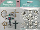 U CHOOSE  Jolee's CROSSES  CROSSES AND DOVES 3D Stickers religious