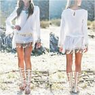 Women Sexy Summer Casual Lace Evening Party Beach Dress Short Mini Dress Fashion