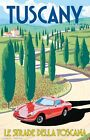 TUSCANY ...ITALY..Vintage Art Deco Travel/Promo Poster 1 A2A3A4Sizes