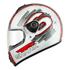 Shark S600 Helmet SWAG Red White Road Motorcycle Commuting Touring
