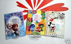 Disney Mickey Frozen Inside out Passport ID Holder Cover set Travel doc Trip Q5