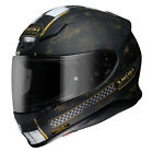 Shoei NXR Terminus Black/Gold TC-9 Helmet Road Touring Track