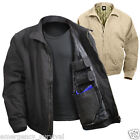 3 Season Concealed Carry Tactical Jacket in Black Navy Olive Drab or Khaki Tan