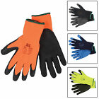 12 Pairs Of Builders Thermal Protective Gardening DIY Latex Coated Work Gloves