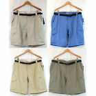NWT Field & Stream Men Performance Ripstop Belted Cargo Hybrid Hiking Shorts $65