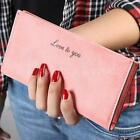 Fashion Women Lady Leather Clutch Wallet Long Card Holder Case Purse Handbag