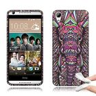 New HTC Desire 626 626s TPU Silicone Rubber Skin Design Cover Case + Crystal Pen