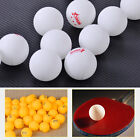 100pcs 40mm White Orange 3-Stars Olympic Ping Pong Ball Table Tennis