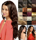 """LADIES LONG CURLY CRIMPED FRENCH CURL 26"""" 3/4 SYNTHETIC WIG KOKO GRACE G1078"""