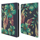 HEAD CASE DESIGNS TROPICAL PRINTS LEATHER BOOK WALLET CASE COVER FOR APPLE iPAD