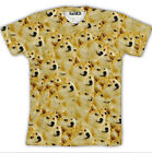 New Fashion Womens/Mens Head doge God dog/shiba inu Funny 3D Print T-Shirt