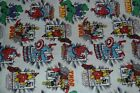 MARVEL FABRIC BY THE YARD 100% COTTON FABRIC iron man,spiderman,thor, the hulk
