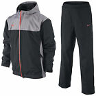 NIKE GOLF STORM-FIT JUNIOR WATERPROOF SUIT-BLACK GREY-NEW TOP COAT PANTS BOYS