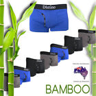Distino Mens Bamboo Underwear - Men's Boxer Briefs / Trunks / Jocks S M L XL XXL