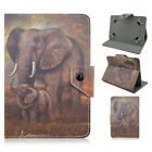"""New Animal Print PU Leather Flip Stand Universal Tablet Case Cover For 7""""Tablets"""