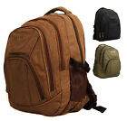 Large Canvas Ocello Backpack Rucksack Padded Travel Hand Luggage Cabin Bag
