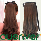2X 37CM Fashion Sweet 4Colours Heat Resistant Women Lady Wig Hair Ponytail