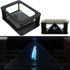 DIY 3D Holographic Projection Pyramid for iPhone 5 6 plus NEW ipad Hatsune 3D MV