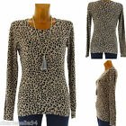 Sweater Wool Panther Print 36 38 40 42 44 - FELINE - Woman - Charleselie94