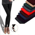 Warm Winter Women Colorful Jeggings Stretch Pants Footless Tights 099 Pop UKJR