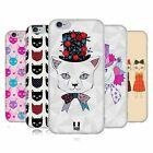 HEAD CASE PRINTED CATS SERIES 1 SOFT GEL CASE FOR APPLE iPHONE 6S