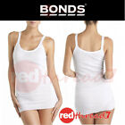 BONDS Womens Cumfy Tube Rib Stretch Singlet Ribbed Top Long Underwear Plus Size