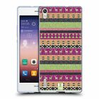 HEAD CASE KNITTED CHRISTMAS SOFT GEL CASE FOR HUAWEI ASCEND P7 DUAL SIM LTE