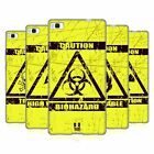 HEAD CASE HAZARD SYMBOLS SOFT GEL CASE FOR HUAWEI P8