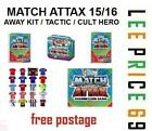 MATCH ATTAX 15/16 CHOOSE FROM AWAY KIT / TACTIC / CULT HERO CARDS