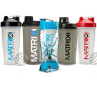 ALL MATRIX NUTRITION SHAKERS - ALL COLOURS - ALL STYLES - PROTEIN SHAKER