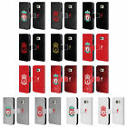 LIVERPOOL FC CREST 1 LEATHER BOOK WALLET CASE COVER FOR SAMSUNG PHONES 1