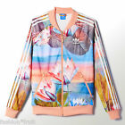 New Adidas Originals Farm Curso d'Agua Superstar Floral Track Top Jacket XS UK 6