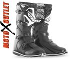 FLY Racing Youth Motocross Boots Maverik MX ATV Black Kids Dirt Bike Boot