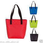 Large Reusable Grocery Tote Shopping Bag Koozie Cool Insulated Shopper Coloured