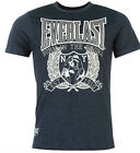 NEW GENUINE EVERLAST SUMMER TOP NAVY MARL WHITE PRINT T-Shirt  SIZES  L- 4XL
