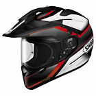 Shoei Hornet ADV Adventure Helmet - Seeker Red White TC1 Dual Sport Offroad Trai