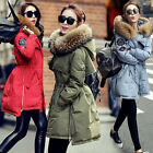 Luxurious Winter Warm Women Lady Good Real Fur Hood Real Duck Down Parka Coat