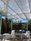 Conservatory Orangery Roof Shade Sail Nets Blinds Garden Pergola Shading Fire Pr