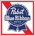 Pabst Blue Ribbon Sticker Decal *different Sizes* Beer Bumper Window Bar Wall