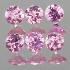 1.3mm Lot 6,10,20,50,100pc Round Cut Calibrated Size Stone Natural Pink SAPPHIRE