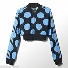Adidas Originals Pharrell Dear Baes Superstar Polka Dot Crop Track Jacket XS S