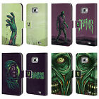 HEAD CASE DESIGNS ZOMBIES LEATHER BOOK WALLET CASE COVER FOR SAMSUNG PHONES 2