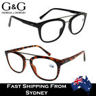 Men Women Fashion Womens Mens Reading Glasses Black Tortoise +0, +1.0~+4.0