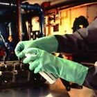 Marigold Industrial Quality G25G Green Nitrile Rubber Gloves Chemicals Food PPE