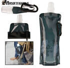 Tactical Portable Folding Outdoor Collapsible Bag Plastic Drinking Water Bottle