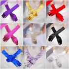 Fashion Satin Long Gloves Wedding Bridal Evening Party Opera Costume Gloves YY