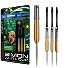 Simon Whitlock Gold / Golden Steel Tip Darts by Winmau - New 2014 Barrel Design