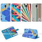 Pattern Wallet Leather Stand Cover Case for Samsung Galaxy S5/6/edge/Note 3/4